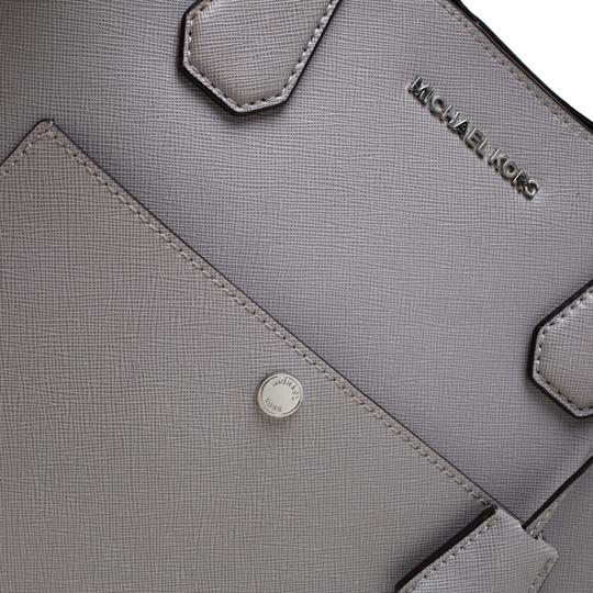 Michael Kors Leather Tote in Grey Image 6