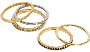 Madewell Filament Stacking Ring Set