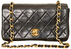 Chanel Quilted Lambskin Single Shoulder Bag