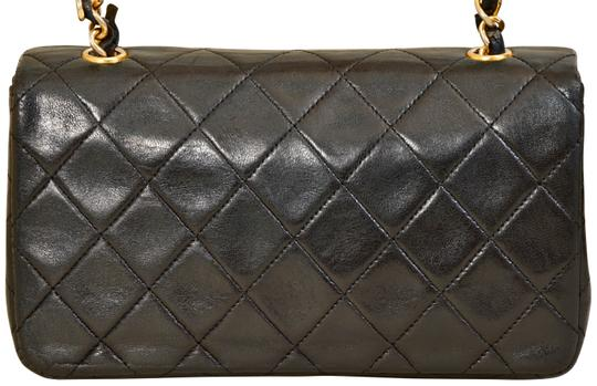 Chanel Quilted Lambskin Single Shoulder Bag Image 3