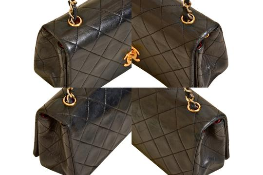 Chanel Quilted Lambskin Single Shoulder Bag Image 5