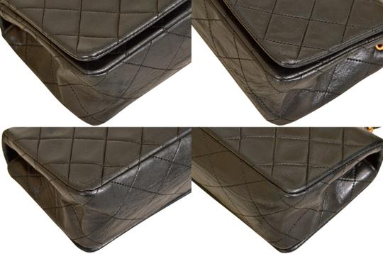 Chanel Quilted Lambskin Single Shoulder Bag Image 6