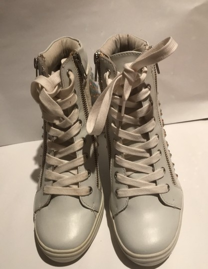 Steve Madden white and silver Athletic Image 1