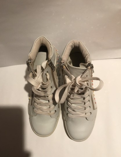 Steve Madden white and silver Athletic Image 2