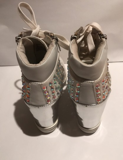 Steve Madden white and silver Athletic Image 3