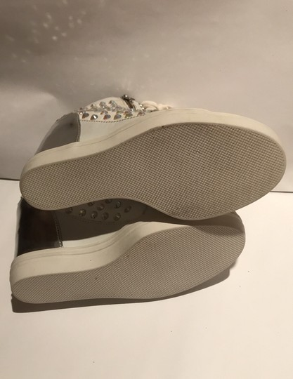 Steve Madden white and silver Athletic Image 4