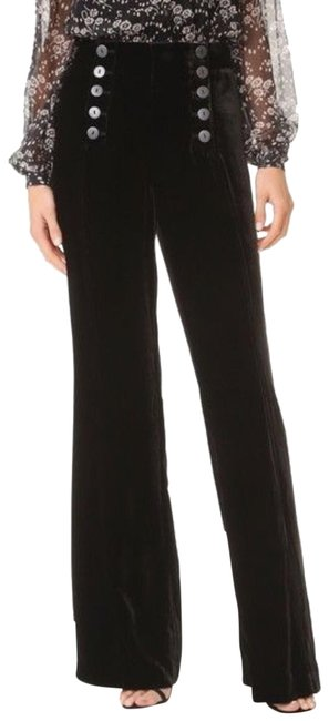 Preload https://img-static.tradesy.com/item/25957722/bcbgmaxazria-black-velvet-sailor-pants-size-2-xs-26-0-1-650-650.jpg