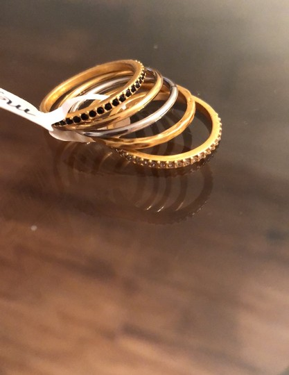 Madewell Filament Stackable Ring Set Image 3