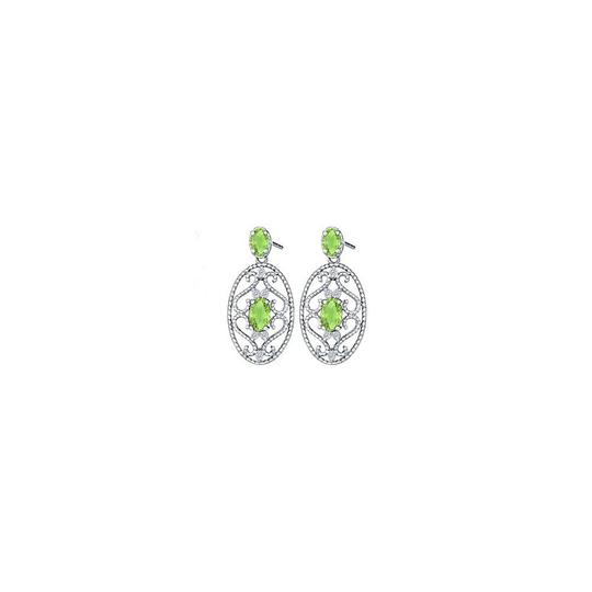 Preload https://img-static.tradesy.com/item/25957741/green-fancy-oval-peridot-and-round-cubic-zirconia-in-14k-white-gold-ring-0-0-540-540.jpg