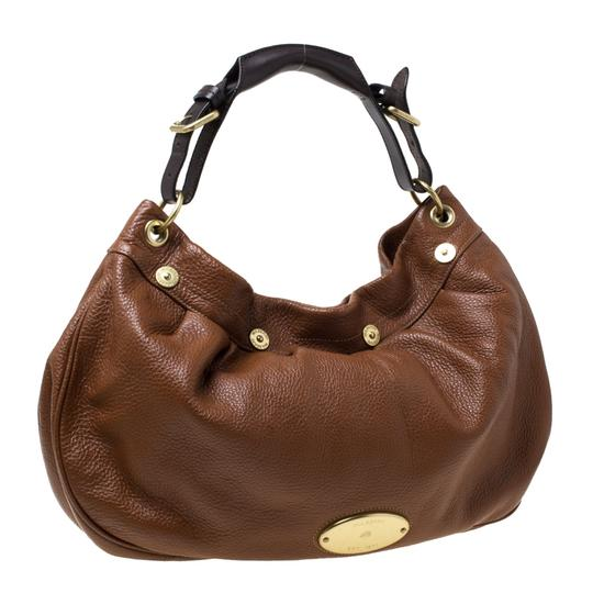 Mulberry Pebbled Leather Hobo Bag Image 6