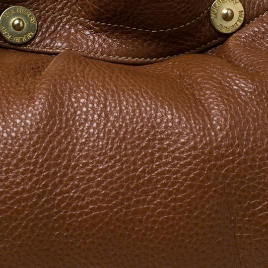 Mulberry Pebbled Leather Hobo Bag Image 9