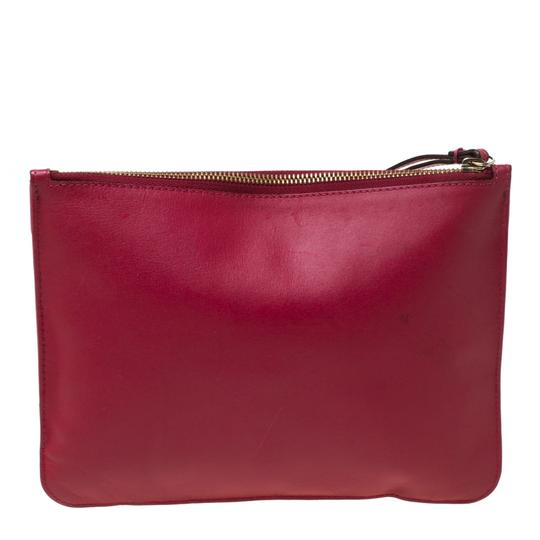 Chloé Leather Pink Clutch Image 1