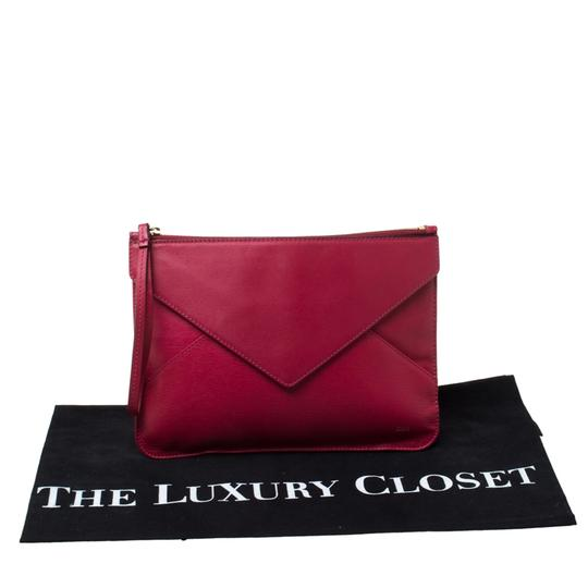 Chloé Leather Pink Clutch Image 10