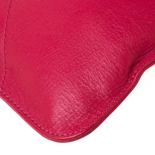 Chloé Leather Pink Clutch Image 6