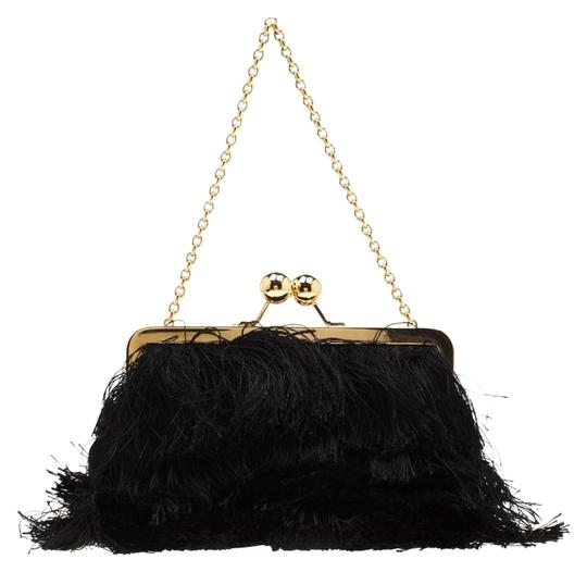Preload https://img-static.tradesy.com/item/25957766/dolce-and-gabbana-fringed-chain-black-fabric-and-satin-clutch-0-2-540-540.jpg