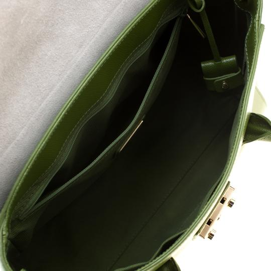 Furla Leather Green Clutch Image 5