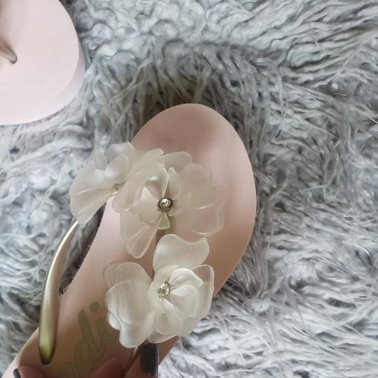 Preload https://item2.tradesy.com/images/candie-s-pink-jelly-flower-wedge-sandals-size-us-9-regular-m-b-25957791-0-3.jpg?width=440&height=440