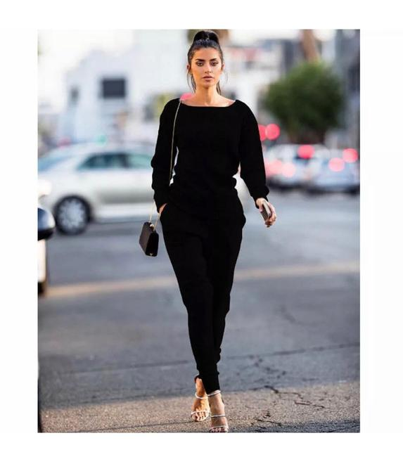 Preload https://img-static.tradesy.com/item/25957801/black-two-pieces-set-outfit-leggings-size-4-s-27-0-0-650-650.jpg