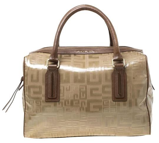 Preload https://img-static.tradesy.com/item/25957829/givenchy-brown-coated-canvas-and-leather-satchel-0-1-540-540.jpg