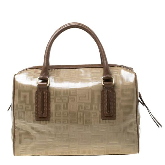 Givenchy Leather Satchel in Brown Image 1