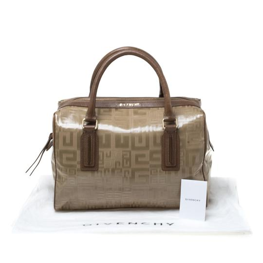 Givenchy Leather Satchel in Brown Image 11