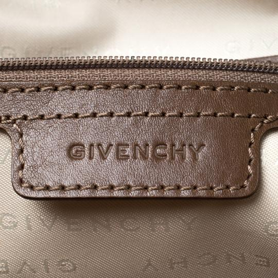 Givenchy Leather Satchel in Brown Image 8