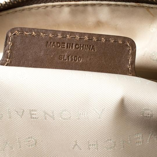 Givenchy Leather Satchel in Brown Image 9