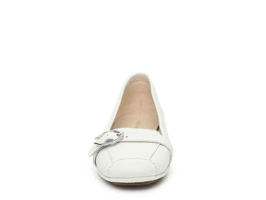 Cole Haan White Flats Image 1