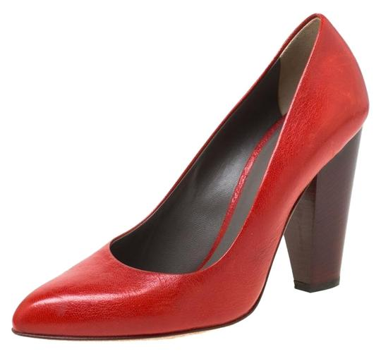 Preload https://img-static.tradesy.com/item/25957839/dolce-and-gabbana-red-leather-block-pumps-size-eu-38-approx-us-8-narrow-aa-n-0-1-540-540.jpg