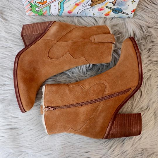 Jeffrey Campbell Tan Suede Boots Image 2