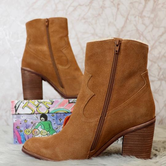 Jeffrey Campbell Tan Suede Boots Image 3