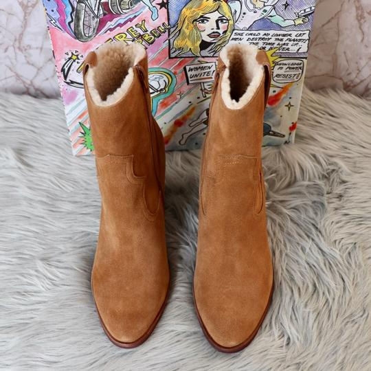 Jeffrey Campbell Tan Suede Boots Image 4