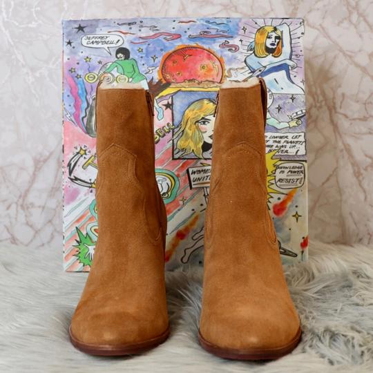 Jeffrey Campbell Tan Suede Boots Image 5
