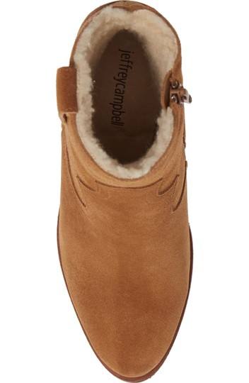 Jeffrey Campbell Tan Suede Boots Image 8