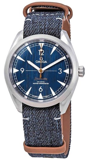 Omega Railmaster Automatic Chronometer Stainless Steel Men's Watch Image 0