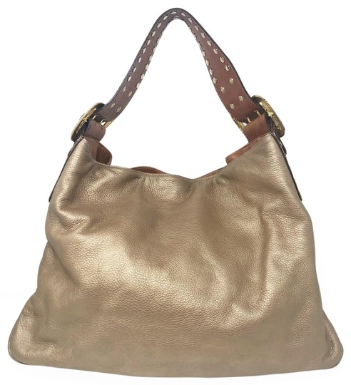 Preload https://img-static.tradesy.com/item/25957904/be-and-d-crawford-metallic-studded-gold-leather-hobo-bag-0-1-540-540.jpg