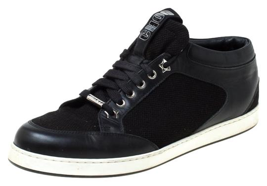 Preload https://img-static.tradesy.com/item/25957912/jimmy-choo-black-miami-canvas-and-leather-logo-pull-sneakers-size-eu-42-approx-us-12-regular-m-b-0-1-540-540.jpg