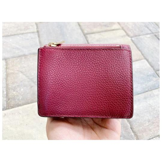 Michael Kors Michael Kors Fulton Carryall Card Case Wallet Mulberry Leather Image 1