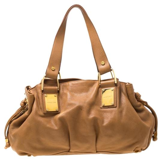 Preload https://img-static.tradesy.com/item/25957918/michael-kors-italy-brown-leather-satchel-0-1-540-540.jpg