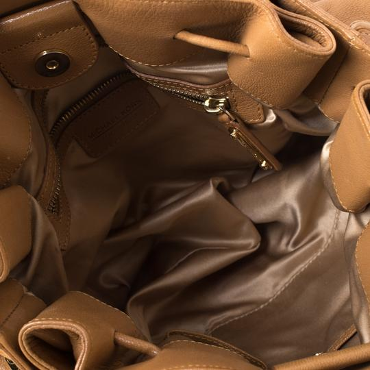 Michael Kors Leather Satchel in Brown Image 5