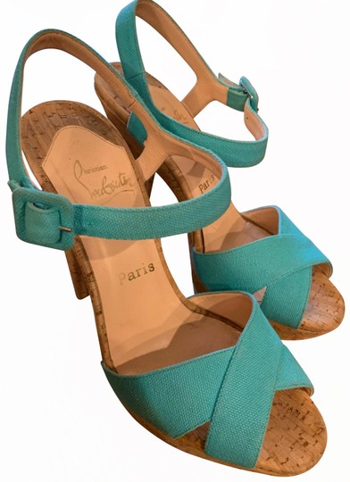 Preload https://img-static.tradesy.com/item/25957929/christian-louboutin-turquoise-lafalaise-platforms-size-us-85-regular-m-b-0-1-540-540.jpg
