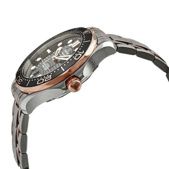 Omega Seamaster Stainless Steel Automatic 18 Kt Sedna Gold Men's Watch Image 1
