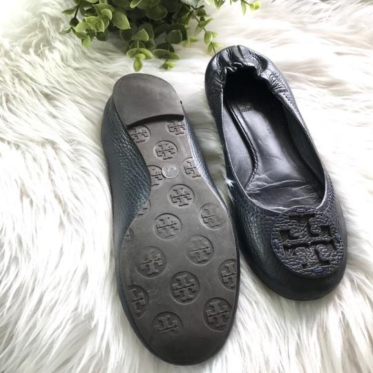 Tory Burch Navy Blue Wedges Image 2