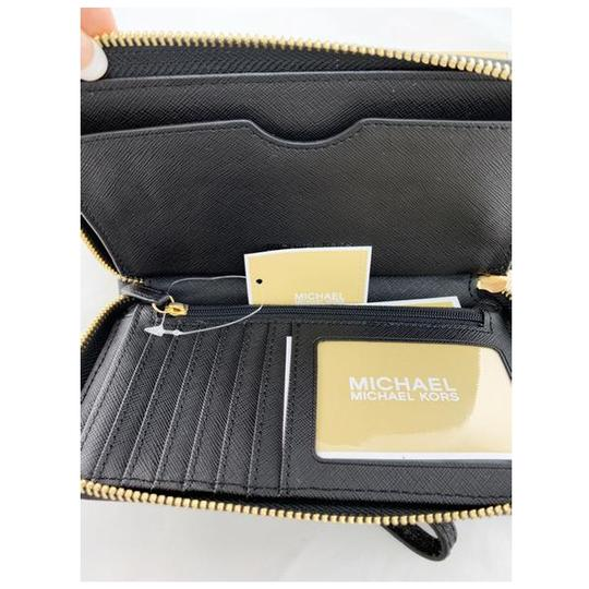 Michael Kors Womens Accessories Wristlet in Black Image 6