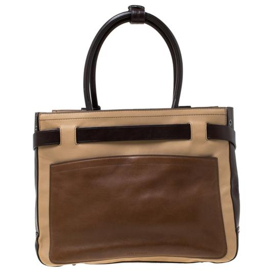 Reed Krakoff Leather Tote in Multicolor Image 1