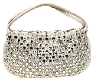 Sonia Rykiel Crystal Embellished Leather Shoulder Bag