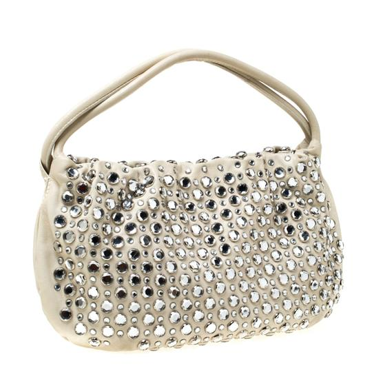 Sonia Rykiel Crystal Embellished Leather Shoulder Bag Image 5