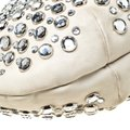Sonia Rykiel Crystal Embellished Leather Shoulder Bag Image 9