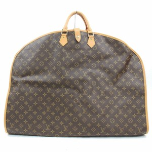 Louis Vuitton Garment Hanger Suit Keepall Duffle Brown Travel Bag