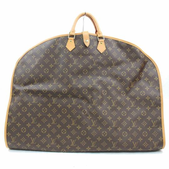Louis Vuitton Garment Hanger Suit Keepall Duffle Brown Travel Bag Image 0
